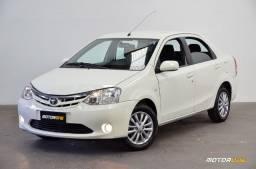 Toyota Etios Sedan XLS 1.5 Único Dono 2013 Apenas 71.000 Km Placa i