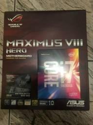 Kit I7 6700k + Asus Maximus Viii Hero