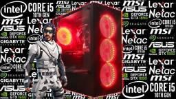 PC Gamer Intel Core i5-10400F + GTX 1650 | Novo c/ Garantia!