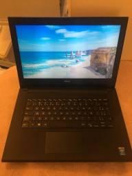 Notebook Dell i3 8G Ssd Débit e Crédito