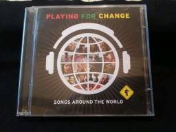 CD e DVD - Playing For Change - Songs Around The World (Originais).