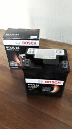 Bateria Bosch pra moto com partida