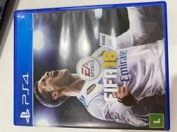Jogo PS4 - Fifa 18 - mídia física Original