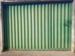 Portão 3x2,10 com Portão Social