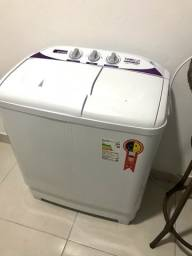 Máquina de lavar semi-automática (ainda com garantia)
