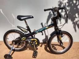Bicicleta infantil aro 16 ( Batman )