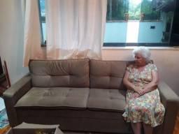 Sofá semi novo 4lugares
