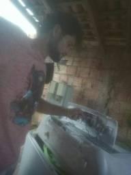 JE/manutenções de máquinas e geladeiras