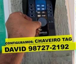 venda e codificação de Chaveiro Tag , para portão etc...
