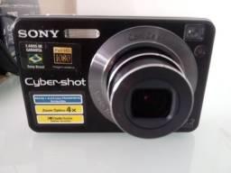 Câmera Digital Sony Cyber-Shot DSC-W125 - Relíquia clássica