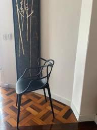 Kit 2 cadeiras allegra preta