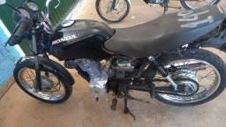 Honda fan 125ks peças e acessórios sucata de leilão so para retirada de peças
