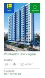 Título do anúncio: AS- Apartamento em Boa Viagem 2 quartos Condomínio Wimbledon  ùltimas unidades