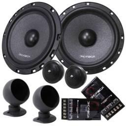 Kit Duas Vias Audiophonic K.c 6.3 ( 6 Polegadas - 160w Rms)