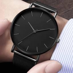 Lindo Relógio Ultra Fino Promoção Dia dos Pais