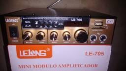 "R$ 270_AMPLiFiCAD0R ""C/Bluetooth"" Multimídia Universal 800W ""ZER0"""