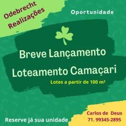 Oportunidade- Lançamento Odebrecht : Loteamento Residenciais em Camaçari