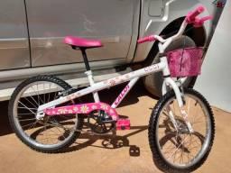 Bicicleta infantil aro 20 ( Caloi Ceci )