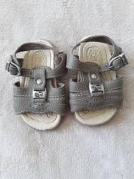 Sandália bebê tamanho tamanho 17