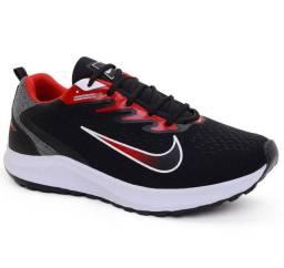 Tênis masculino nike running esportivo para corrida caminhada academia treino e dia dia