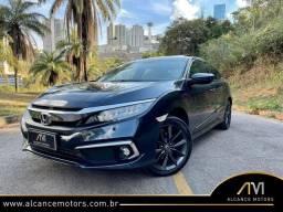 Honda Civic Touring 2021 apenas 7 mil KM!!!