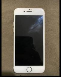 iPhone 7 128 GB dourado Novinho
