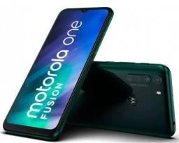 Motorola One fusion 128gb e 4 ram Verde Esmeralda