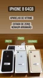 iPhone 8 de Vitrine - Estado de Zero! Todas as cores.