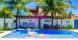 Paraiso Azul, com 7 quartos, piscina, churraqueira, Novo Prado !! whats up 75 9231 2991