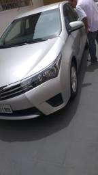 Toyota Corolla Gli 2015 Prata 22 mil km único dono - 2015