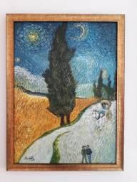 Quadro Pintura Artística - Acrílico com moldura