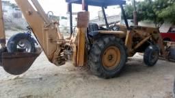 Máquina retro escavadeira