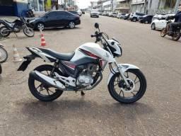 Titan 160 branca - 2016