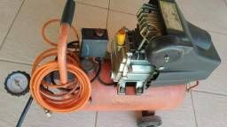 Compressor 2.5HP + Pistola Profissional