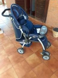 Carrinho de bebê Chicco + bb conforto
