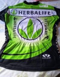 Camiseta feminina de Ciclista