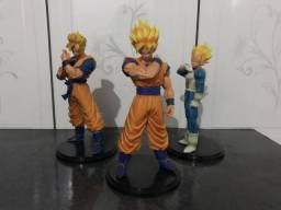 Bonecos Dragon Ball Goku Gohan e Vegeta