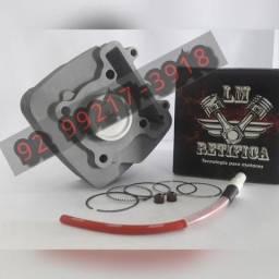 Kit Motor Crypton115 0,50mm/Com Cabo Ibooster 2009 Em Diante