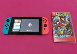 Nintendo switch 32gb pouco usado