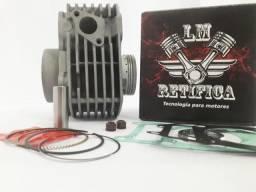Kit Motor Fazer150 Crosser150/2mm C Pistão Max + Aneis Rik