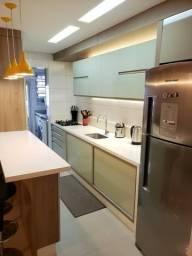 Amplo Apartamento 2 dormitórios Suíte Mobiliado 2 Garagens