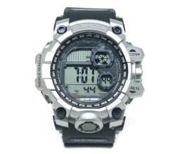 2d1eac05d9c Frete Grátis - Relógio Digital Casio G-Shock Preto e Prata