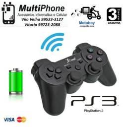 Controle Sem Fio Para Playstation 3 Analógico ps3 Knup garantia