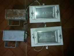 Refletores Vapor Matálico - Luminárias