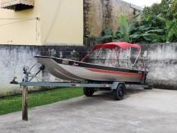 Carretinha barco até 6m
