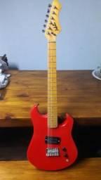 Guitarra + pedal 360.00 Reais