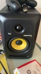 Monitor de áudio krk rp5 apenas uma