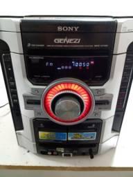Som Sony bem conservado