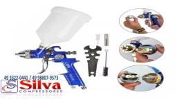 Pistola De Pintura Automotiva de Gravidade 600 Ml Hvlp 1.4mm Pro 550