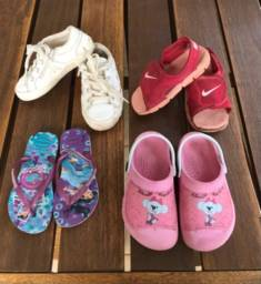 Lote sapato menino tamanho 24